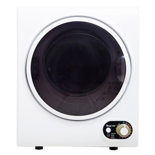 1.5 Cu. Ft. Compact Dryer - White