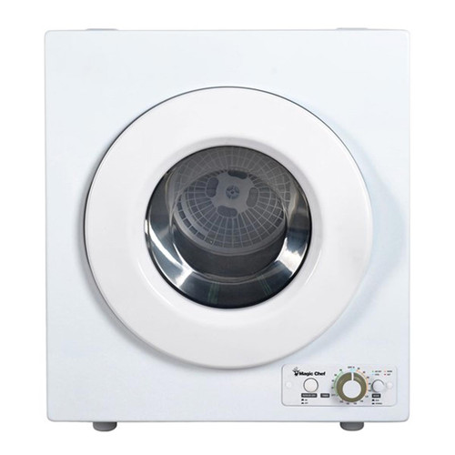 2.6 Cu. Ft. Compact Dryer - White