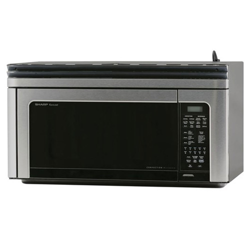 Sharp Carousel Over-the-Range Microwave / Convection - 850 W - Stainless / Black