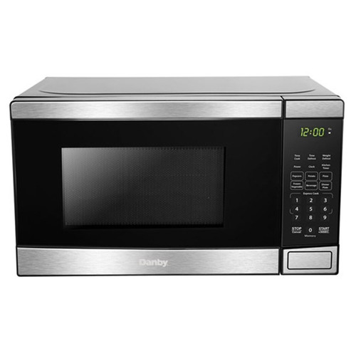 Danby 0.7 Cu. Ft. Countertop Microwave - 700 Watt - Stainless