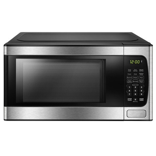 Danby 0.9 Cu. Ft. Countertop Microwave - 900 Watt - Stainless