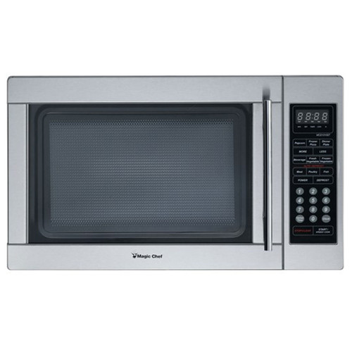 1.3 Cu. Ft. Countertop Microwave - 1000 Watt - Stainless Steel