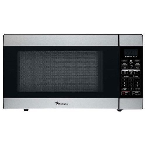 1.8 Cu. Ft. Countertop Microwave - 1100 Watt - Stainless