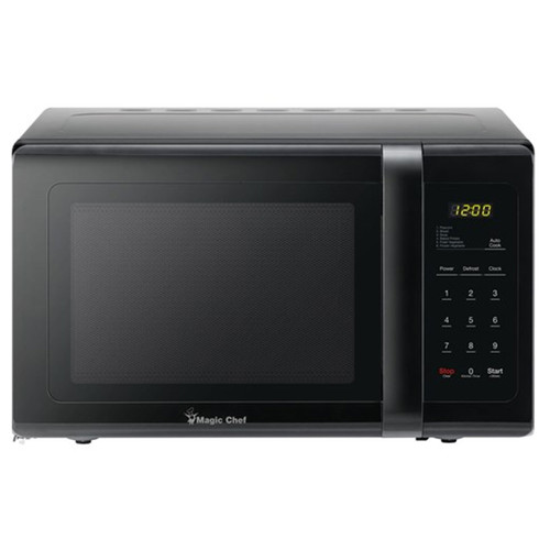 Magic Chef 0.9 Cu. Ft. Countertop Microwave - 900 Watt - Black