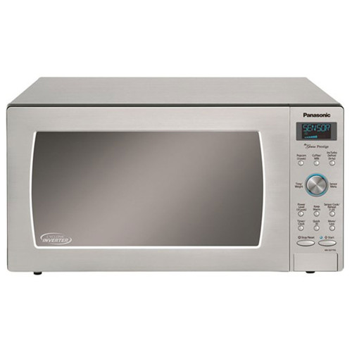 1.6 Cu. Ft. Countertop Microwave - 1250 Watt - Stainless Steel / Silver