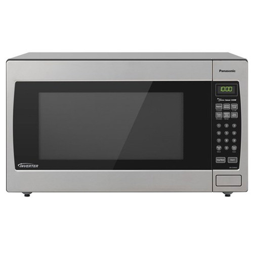 2.2 Cu. Ft. Countertop Microwave - 1250 Watt - Stainless / Silver