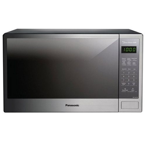 Panasonic 1.3 Cu. Ft. Countertop Microwave - 1100 Watt - Stainless Steel