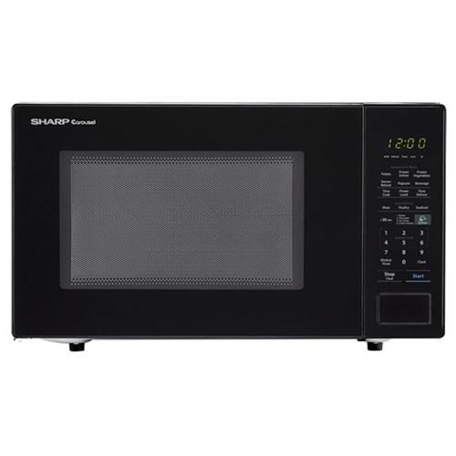 Sharp 1.4 Cu. Ft. Countertop Microwave - 1000 Watt - Black