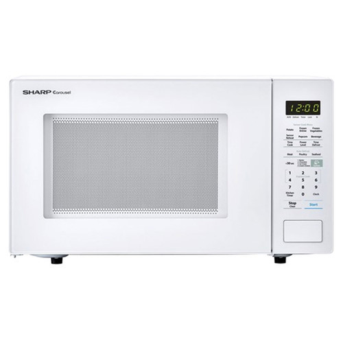 1.4 Cu. Ft. Countertop Microwave - 1000 Watt - White