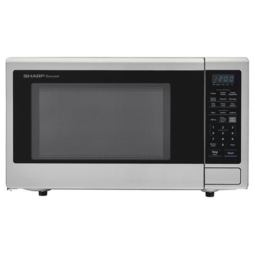 2.2 Cu. Ft. Countertop Microwave - 1200 Watt - Stainless