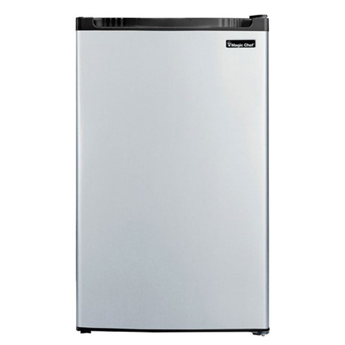 Magic Chef 4.4 Cu. Ft. Compact Refrigerator - Stainless - MCBR440S2