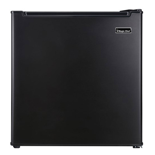 Magic Chef 1.7 Cu. Ft. Compact Refrigerator - Black - MCR170BE