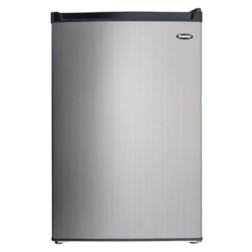 Danby 4.4 Cu. Ft. Compact Refrigerator w/ Freezer Section - Black - DCR044B1SLM