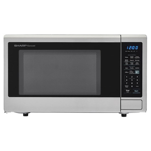 Sharp 1.8 Cu. Ft. Countertop Microwave - 1100 Watt - Stainless Steel