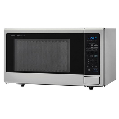Sharp 1.8 Cu. Ft. Countertop Microwave - 1100 Watt - Stainless - ZSMC1842CS