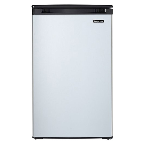 Magic Chef 4.4 Cu. Ft. Compact Refrigerator - Stainless - MCAR440BE