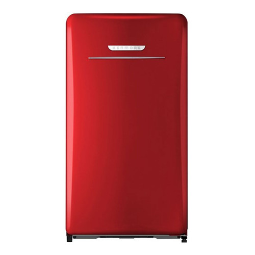 Kenmore 4.4 Cu. Ft. Compact Refrigerator - Retro Style - Red - 99091