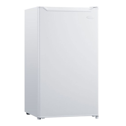 Danby 3.3 Cu. Ft. Compact Refrigerator w/ Freezer Section - White - DCR033B1WM