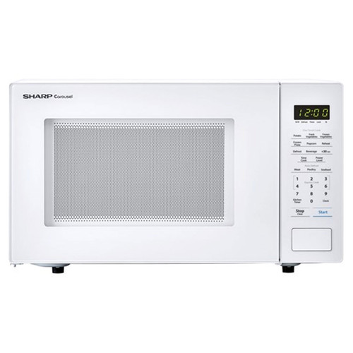 Sharp 1.1 Cu. Ft. Countertop Microwave - 1000 Watt - White -ZSMC1131CW