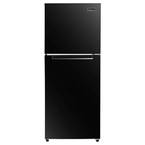Magic Chef 10 Cu. Ft. Refrigerator w/ Independent Freezer - Black - MCDR1000BE