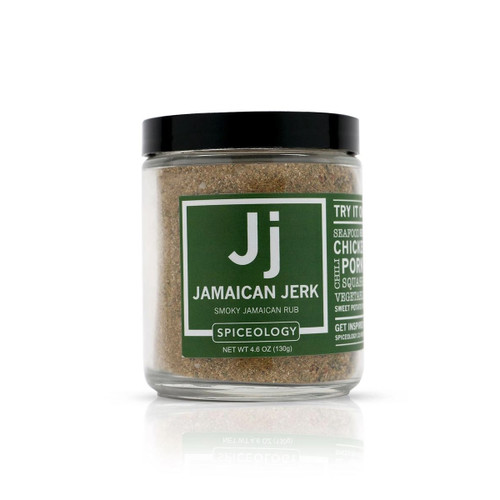 Spiceology Jamaican Jerk Rub - Glass Jar