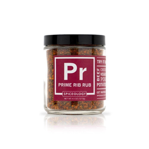 Spiceology Prime Rib Rub - Glass Jar
