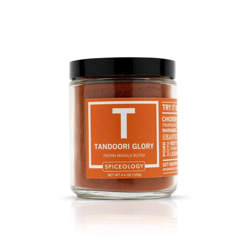 Spiceology Tandoori Glory Indian Masala Blend - Glass Jar
