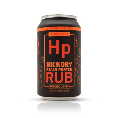 Spiceology - Derek Wolf Beer Can Hickory Peach Porter Rub