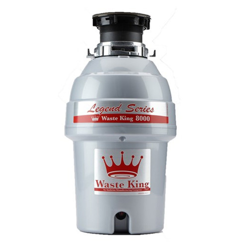 Waste King EZ-Mount 1 HP 8000 Legend Series - Septic Safe Garbage Disposal