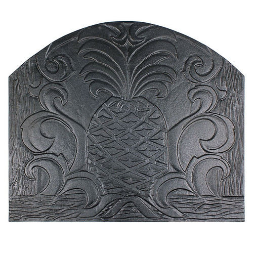Welcome Cast Iron Fireback - 24'' W x 20'' H