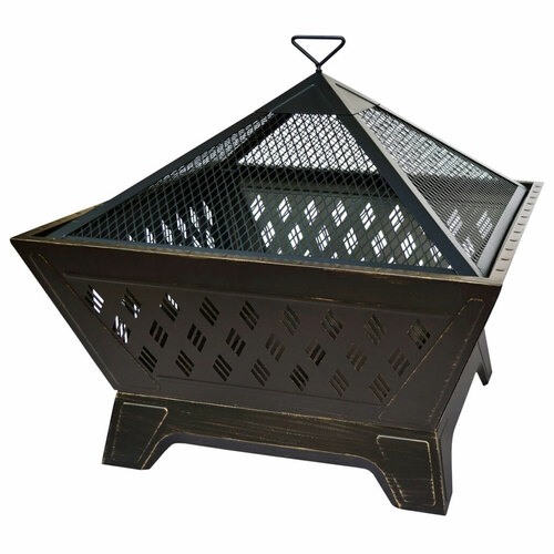"Brooke - 26"" Fire Pit - Antique Bronze"