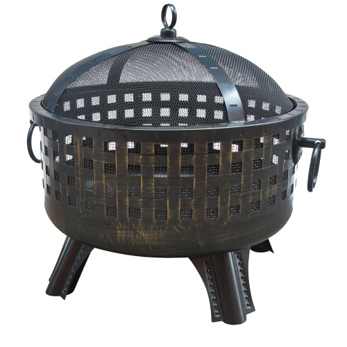"Savannah - 23.5"" Fire Pit - Bronze"