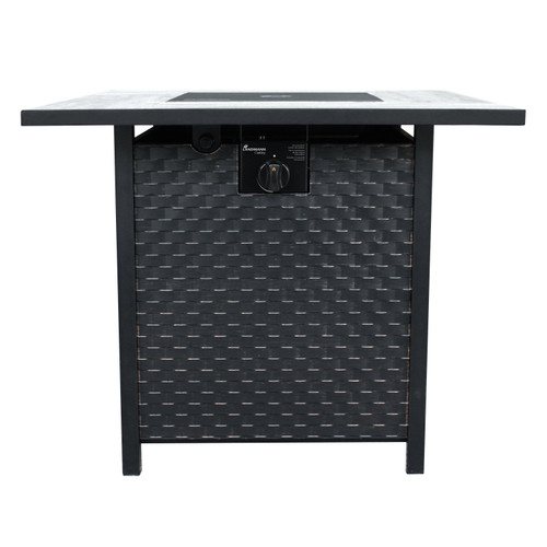 "Oakley - 30"" Gas Outdoor Fire Table"