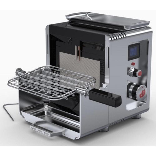 LM800 Portable Compact Propane Gas Grill - Stainless