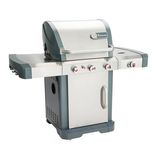 Avalon Gas BBQ Grill - Precise Temperature Control - Easy Clean - 4 Burner