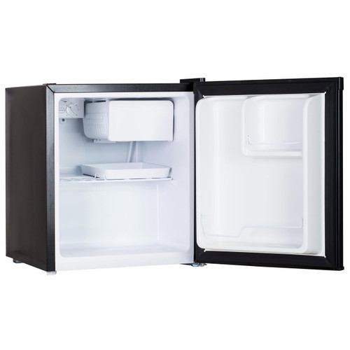 Arctic Wind 1.7-Cu. Ft. Single Door Compact Refrigerator - Silver