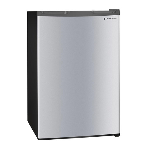 Arctic Wind 4.4-Cu. Ft. Single Door Compact Refrigerator - Silver