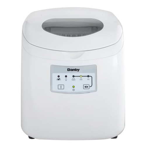 Danby Portable Ice Maker - LED Display - White