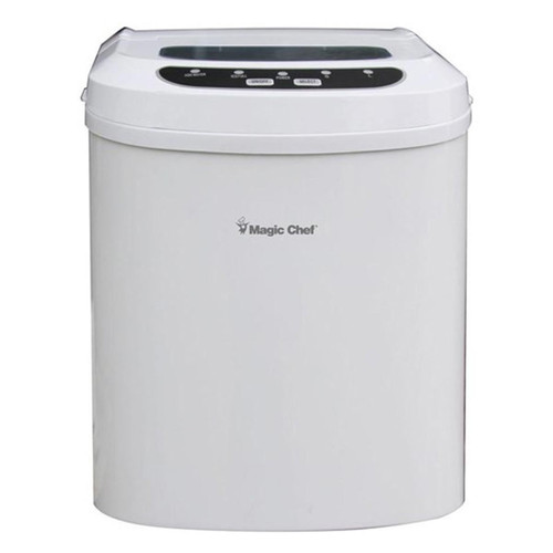 Magic Chef 27 Lb Portable Ice Maker - White