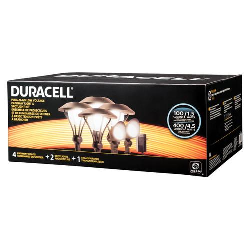 LED 6 Pack Landscape Lighting Kit -  Duracell