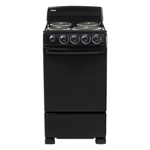 "Danby 20"" Electric Range w/ Coil Elements - Black"