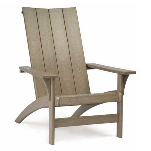 Breezesta Poly Lumber Contemporary Adirondack Chair