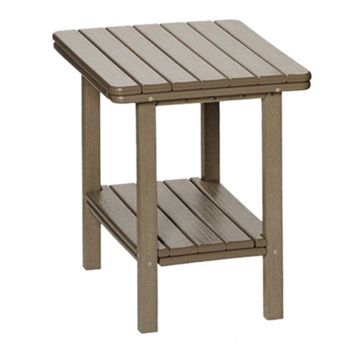 Breezesta Poly Lumber Universal Adirondack Accent Table