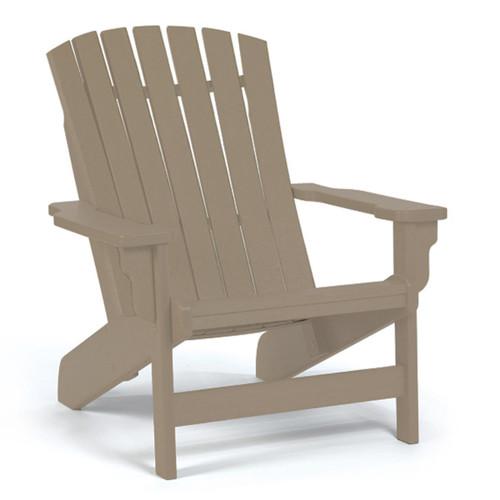 Breezesta Poly Lumber Fanback Adirondack Chair