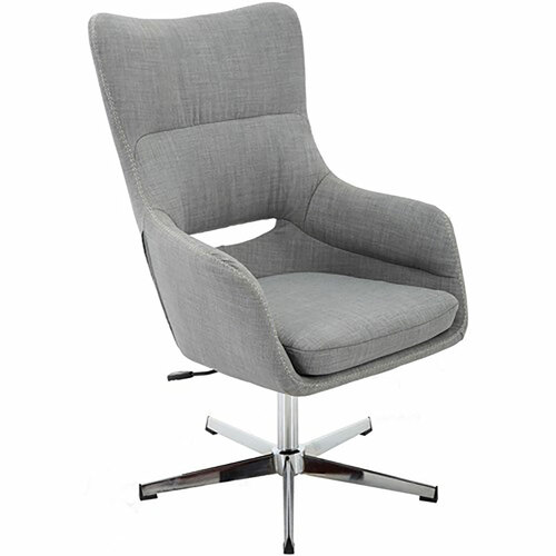 "Carlton 18.5"" High Back Office Chair - Grey"