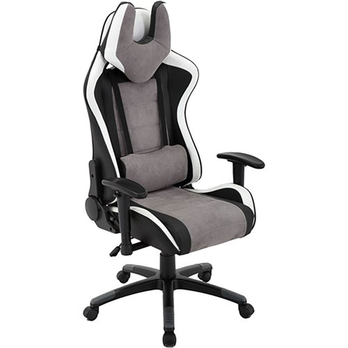 Commando Gas Lift, 2-Tone Gaming Chair - Black/Gray