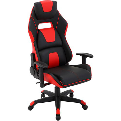 Commando Gas Lift - 2-Tone Gaming Chair - Black/Red