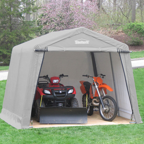SHELTER-IT 10' X 10' X 8' - Instant Shed - Tan