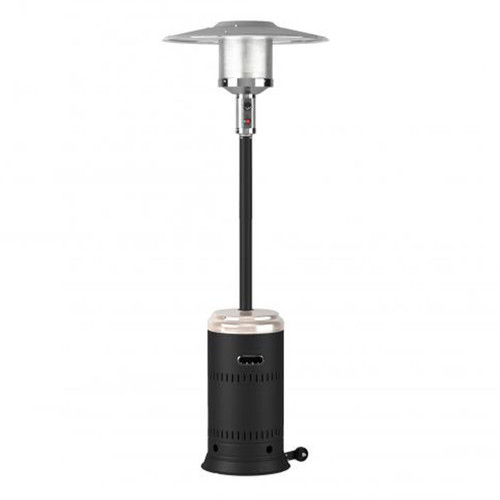 Onyx and Stainless Steel Performance Series Gas Patio Heater- 46,000 BTU