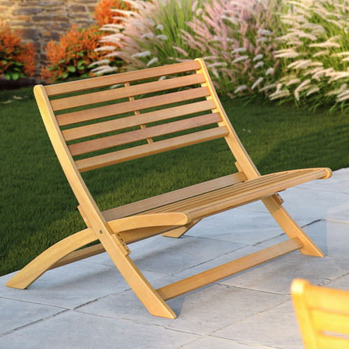 Wooden Folding Patio Bench